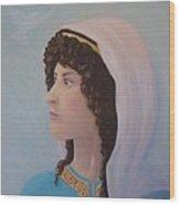 Deborah    Prophetess And Judge Wood Print