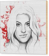 Debra Morgan - Dexter Wood Print
