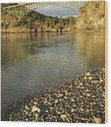 Deception Pass Bridge Whidbey Isl Wood Print