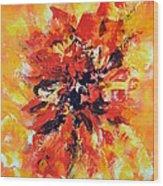 Declaration D'amour Wood Print