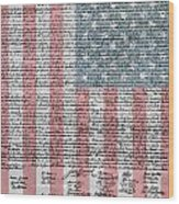Declaration Of Independence Wood Print by Dan Sproul