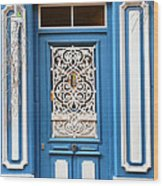 Decorative Door Wood Print