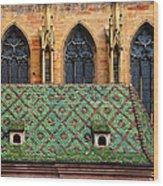 Decorative Roof Wood Print