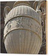 Decorative Urn - Palace Of Fine Arts Sf Wood Print