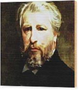 Dedication To William Adolphe Bouguereau Wood Print
