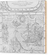 Dee Navigation, 1577 Wood Print