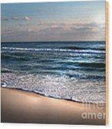 Deep Blue Sea Wood Print by Jeffery Fagan