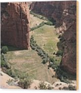 Deep Canyon De Chelly Wood Print