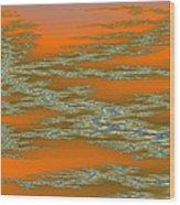 Deep Color Field 3 Wood Print
