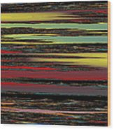 Deep Color Field Wood Print