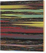 Deep Color Field Wood Print