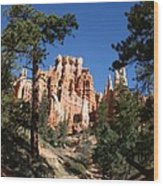 Deep In The Bryce Canyon Wood Print