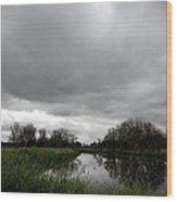 Deep Lake At Ridgefield National Wildlife Refuge Wood Print
