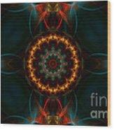 Deep Magic Wood Print by Hanza Turgul