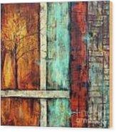 Deep Roots-a Wood Print