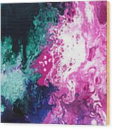 Deep Space Canvas Three Wood Print