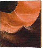 Deep Waves Wood Print