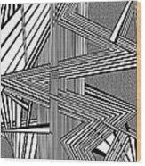 Deeper And Deeper Wood Print