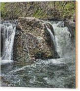 Deer Creek Falls Wood Print