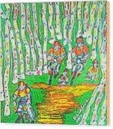 Deer Valley Mountain Biking 1 Wood Print