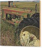 Deere John Wood Print by Doug Davidson