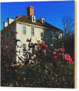 Deerfield House 1 Wood Print
