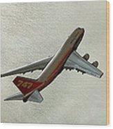 Definition - Boeing 747 Wood Print