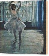 Degas, Edgar 1834-1917. Dancer Wood Print by Everett