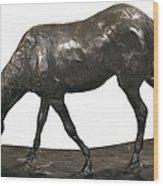 Degas, Edgar 1834-1917. Horse Wood Print