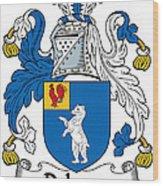 Dehany Coat Of Arms Irish Wood Print
