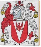 Delap Coat Of Arms Irish Wood Print
