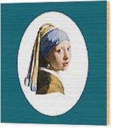 Delft Blue Flip Side Wood Print