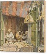 Delhi - Jeweller, From India Ancient Wood Print