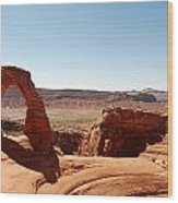 Delicate Arch 2 Wood Print