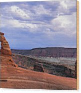 Delicate Arch Located In Arches Wood Print