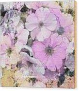 Delicate Bouquet Wood Print