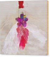 Delicate Dance - Impressionistic Dancer Wood Print