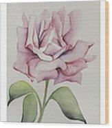 Delicate Dance Wood Print by Nancy Edwards