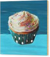 Delightful Sprinkles Wood Print