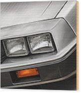 Delorean Dmc-12 Wood Print by Gordon Dean II