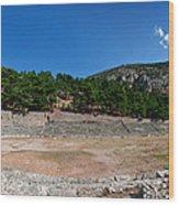 Delphi - Greece Wood Print
