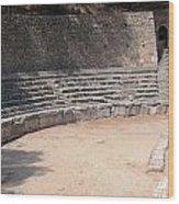 Delphi Stadium Ruins 3 Wood Print