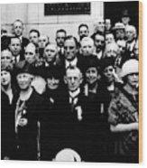 Democractic Delegates, 1920 Wood Print