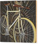 Demon Path Racer Bicycle Wood Print by Mark Jones