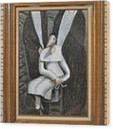 Dennice - Framed Wood Print