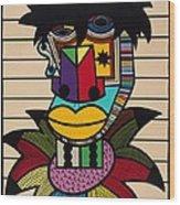 Dennis Brown Wood Print