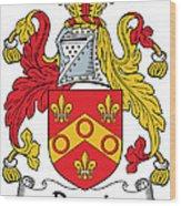 Dennis Coat Of Arms Irish Wood Print