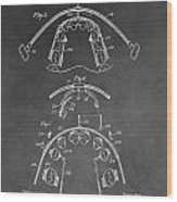 Dental Braces Patent Wood Print