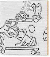 Dentistry, 600 A.d Wood Print