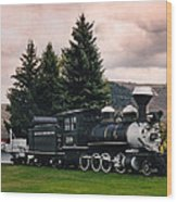 Denver And Rio Grande Western 268 Circa 1990 Wood Print